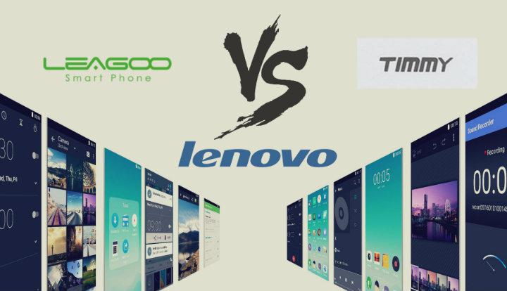 Leagoo vs timmy vs Lenovo smartphones ultra baratos