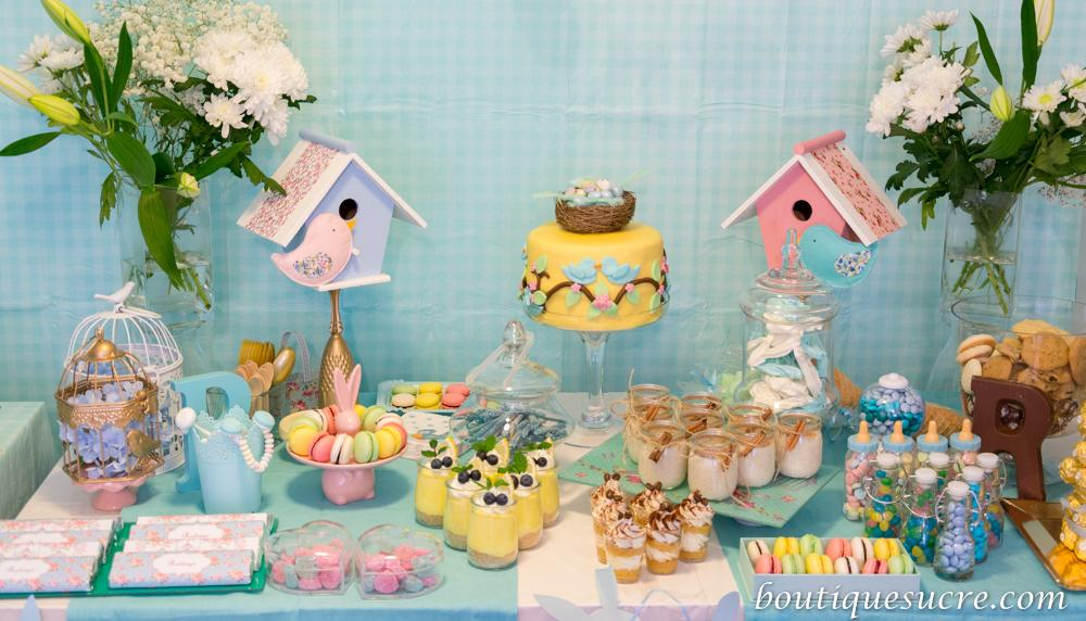 Baby Shower Pajaritos