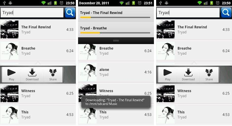 Tinytunes para Android