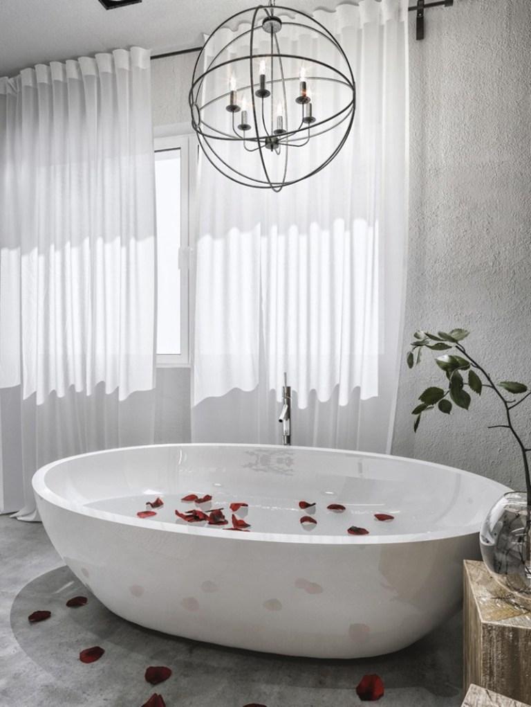 Lámparas suspendidas para el cuarto de baño | Decoración