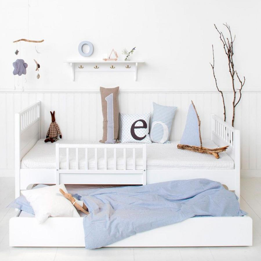 Cama nido blanca Seaside de Oliver Furniture