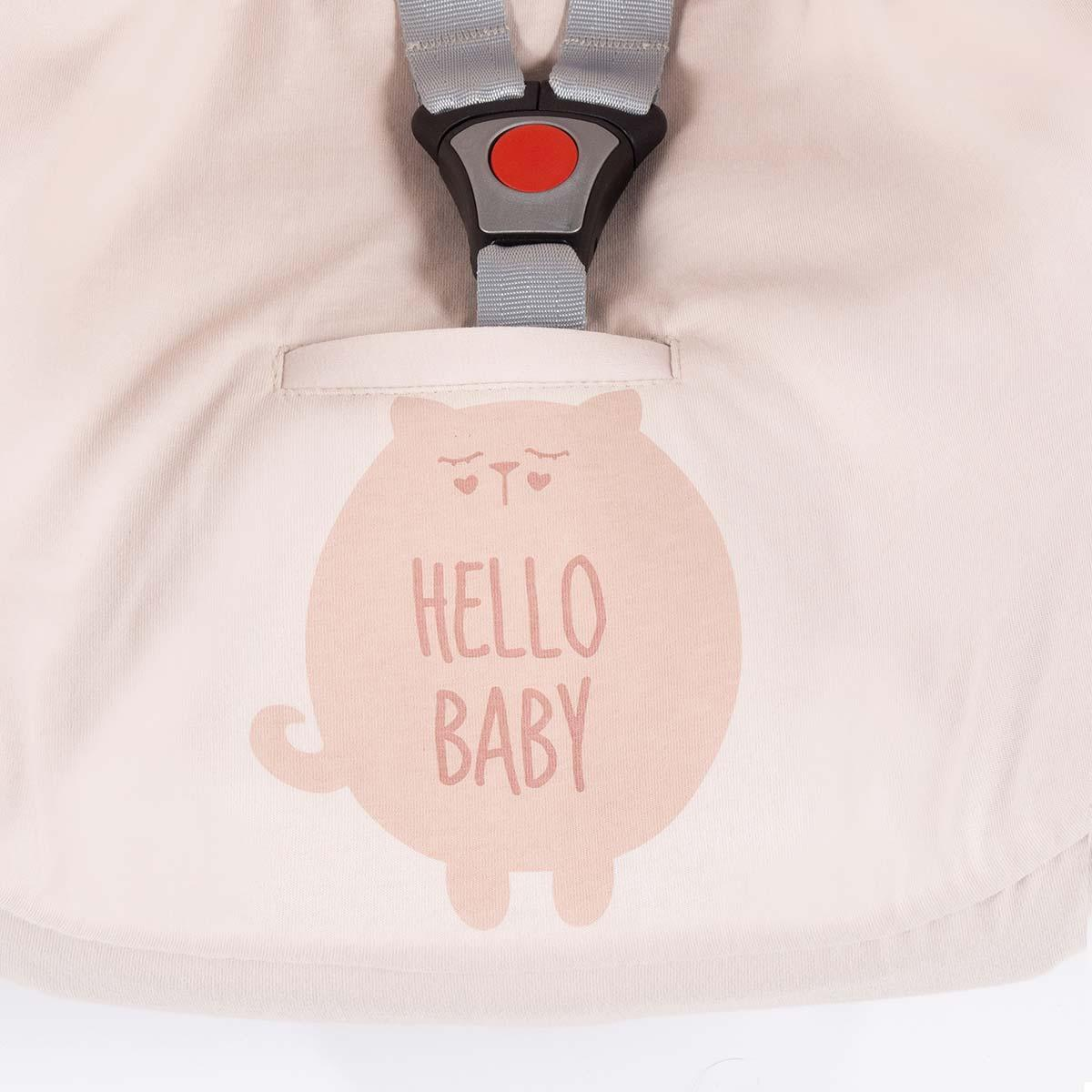 Funda Grupo 0 Hello Baby Walking Mum Rosa