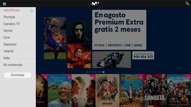 Movistar+ APP TV Box Android Yomvi
