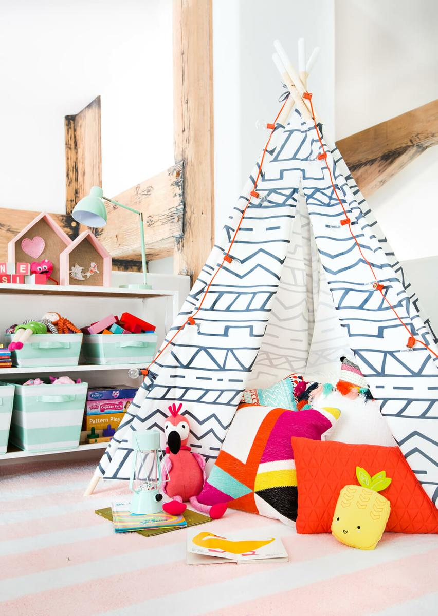 5_consejos_para_decorar_un_dormitorio_infantil_inspiración_dormitorio_infantil_espacio_juegos_tipi