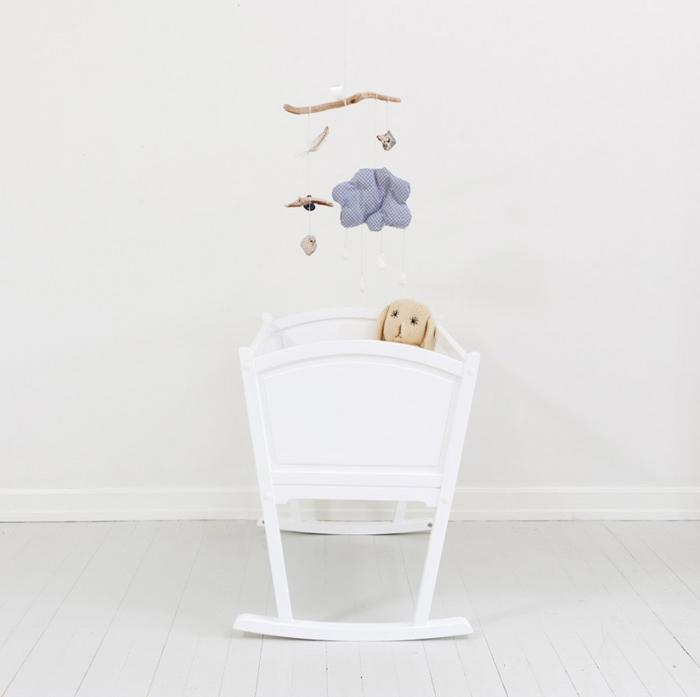 Minicuna blanca Seaside de Oliver Furniture