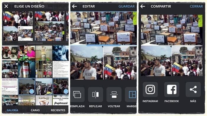 layout instagram