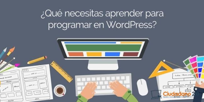 cabecera programar wordpress