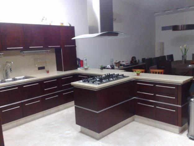 decoracion de cocinas color chocolatee