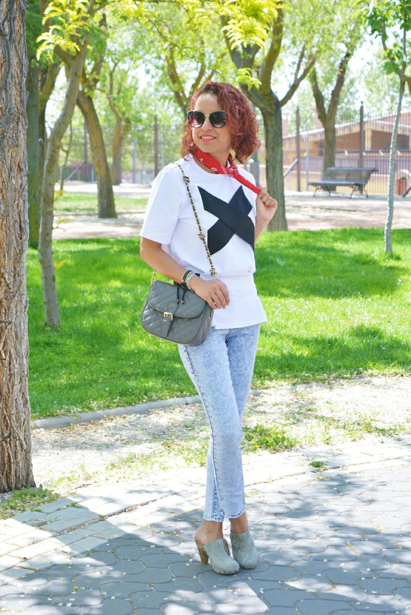 Look casual con bandana