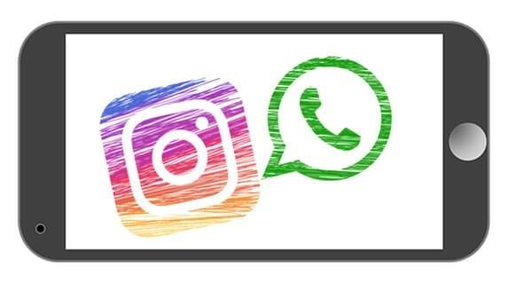 Compartir fotos y Videos de Instagram por WhatsApp