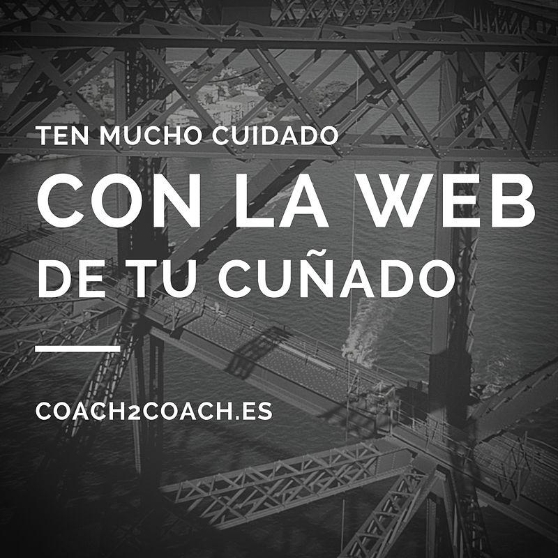 web de coaching profesional
