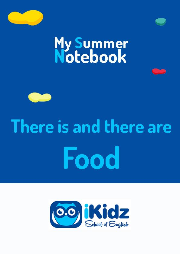 My summer Notebook portada_There is and there are_food