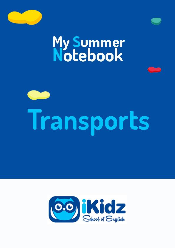 My summer Notebook portada_Transports
