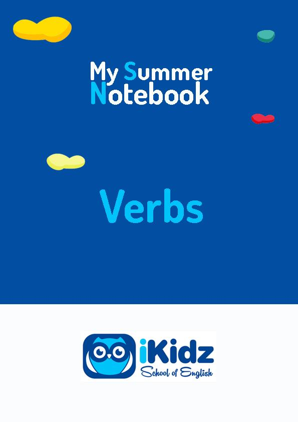 My summer Notebook portada_Verbs
