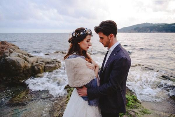 Bodas entre tules winter sea love 009