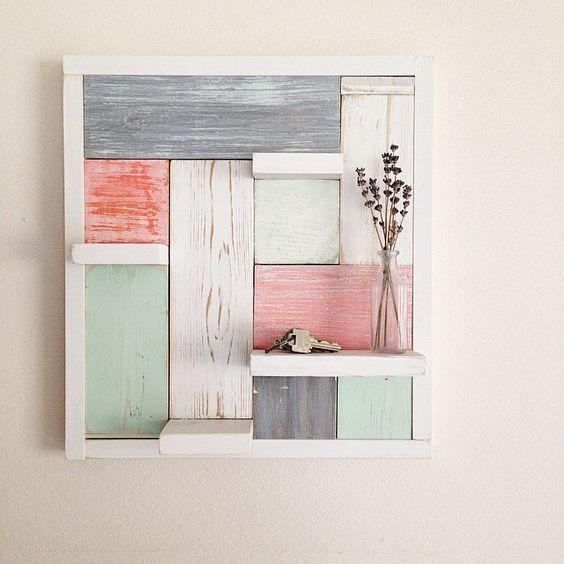 Wall Decor by My Altered State #GetBuilding2015 #ScrapWorkLove: