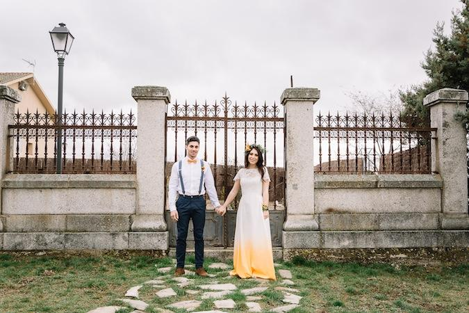 Un elopement con color