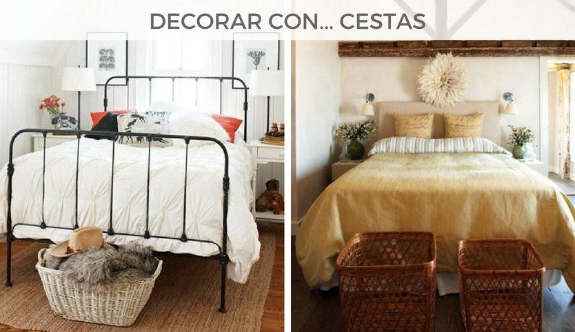 5_ideas_para_decorar_los_pies_de_la_cama_decoración_cestas