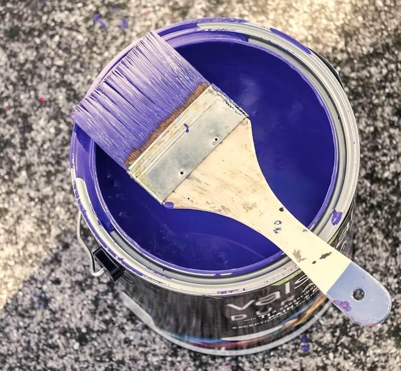 pintar con brocha sin dejar marcas de pintura
