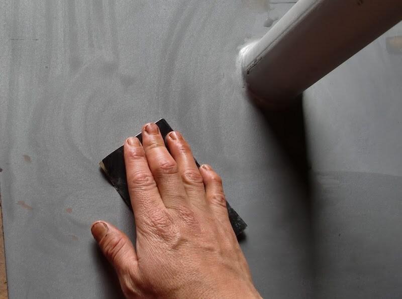 lijar para no dejar marcas de pincel