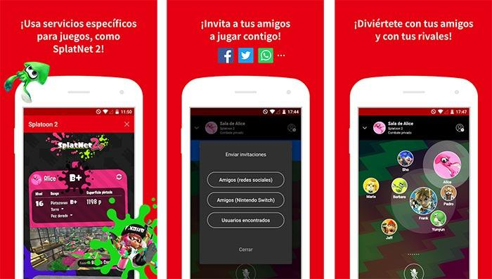 imagen Nintendo Switch Online para Android