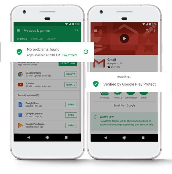 imagen Google Play Protect
