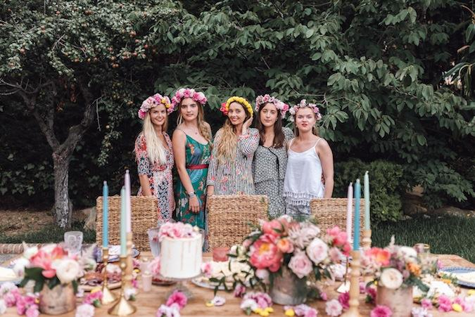 La bridal party de Lara