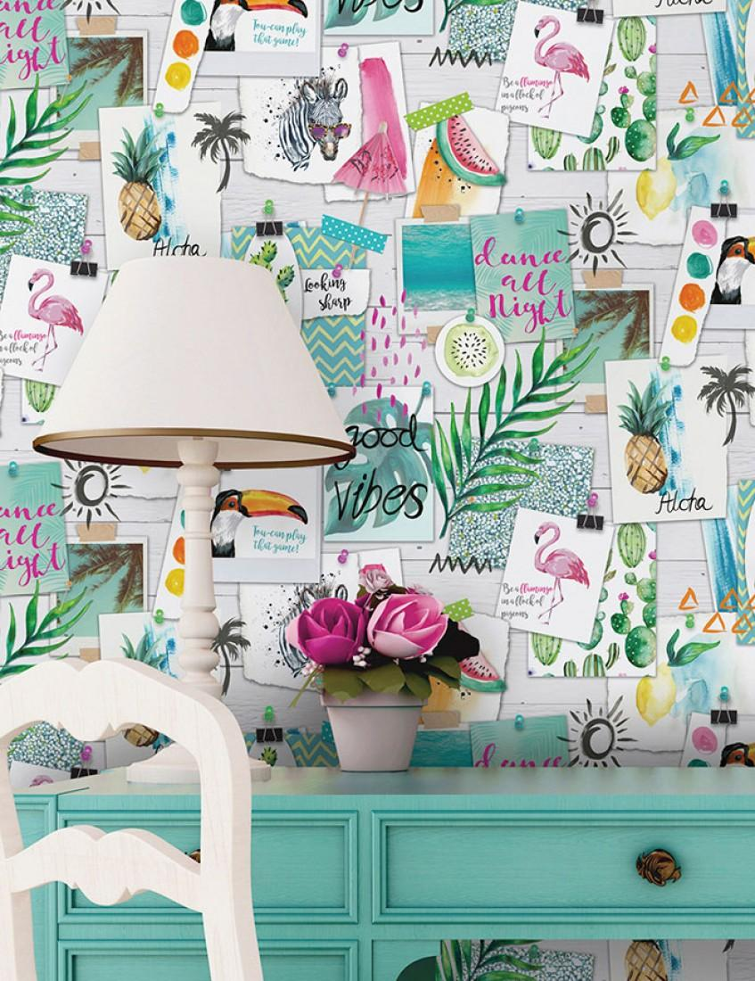 decorar con papel pintado - Estilo boho chic Remember-Last-Holiday-B_103041_2000x700
