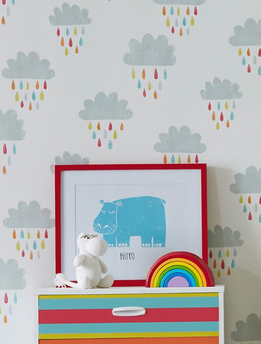 decorar con papel pintado - Estilo infantil Before-a-Rainbow-C_461881_1440x1100