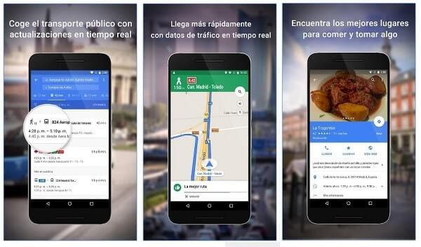 google maps gps android