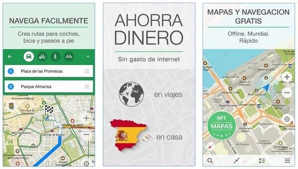 Maps.me navegador gps android