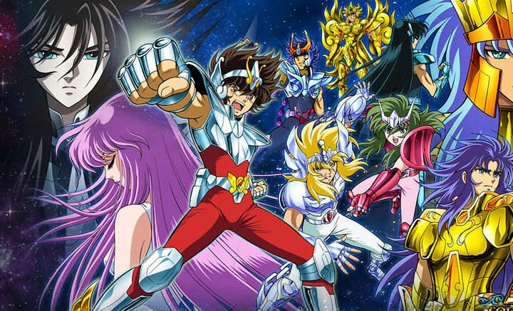 poster de knights of the zodiac saint seiya caballeros del zodiaco netflix y toei animation