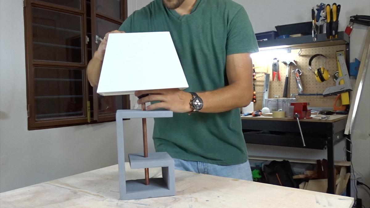 Como hacer una lampara 18 | DIY modern lamp