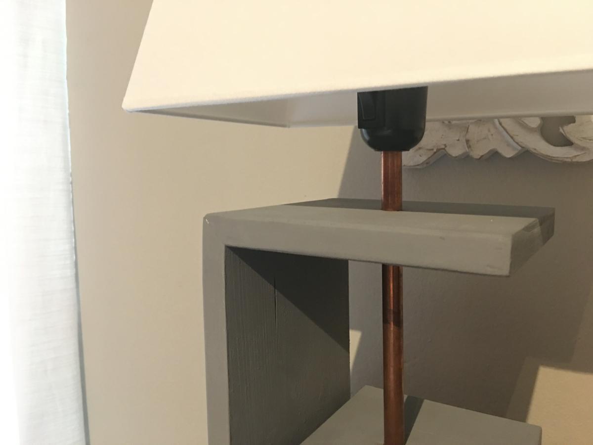 Lámpara diseño moderno
