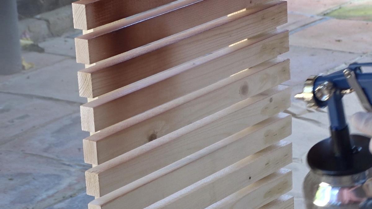 Pintar un cabecero de madera