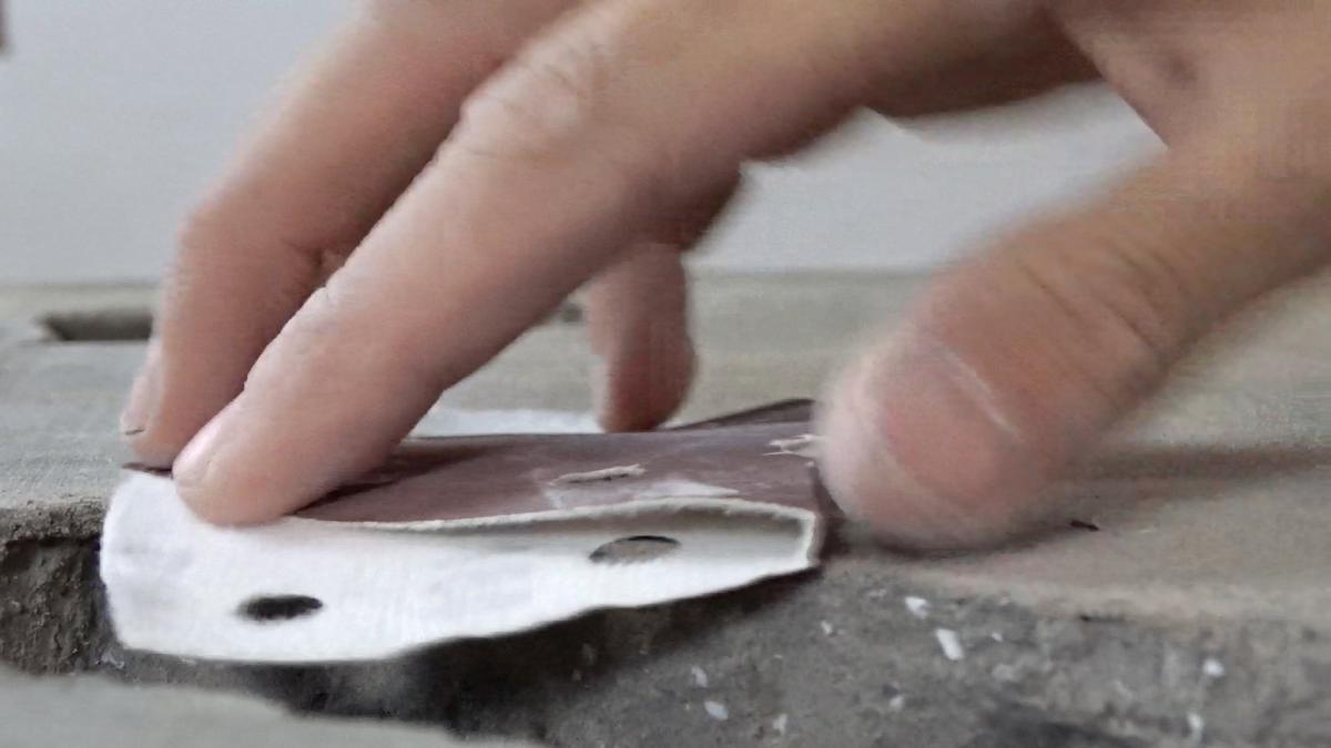 Macetero colgante de cemento 18