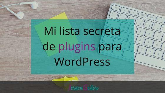 Mi lista secreta de 23 plugins para WordPress