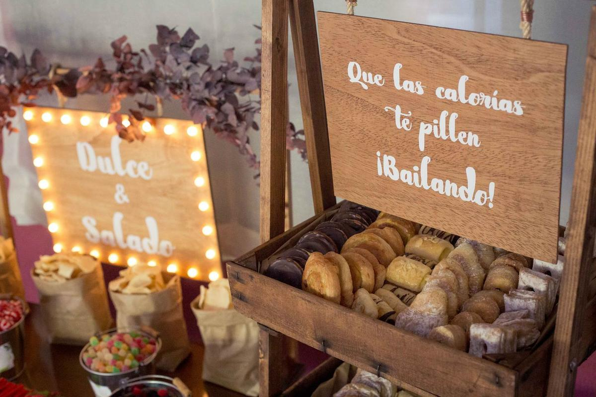 Candy bar, decoración de bodas Alicante. Wedding Planner