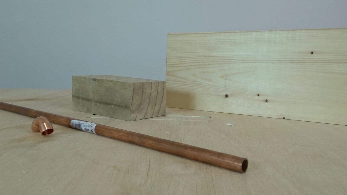 Como hacer un toallero de madera | DIY towel holder 1