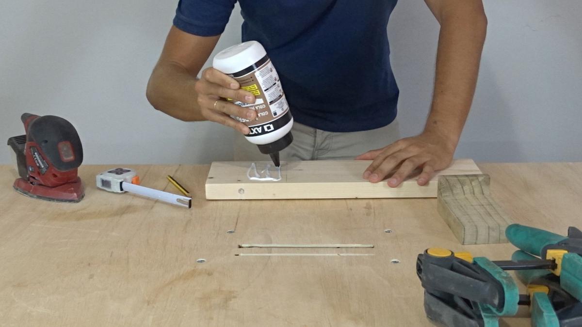 Como hacer un toallero de madera | DIY towel holder 9