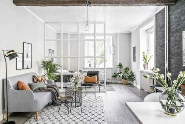 total grey decoration