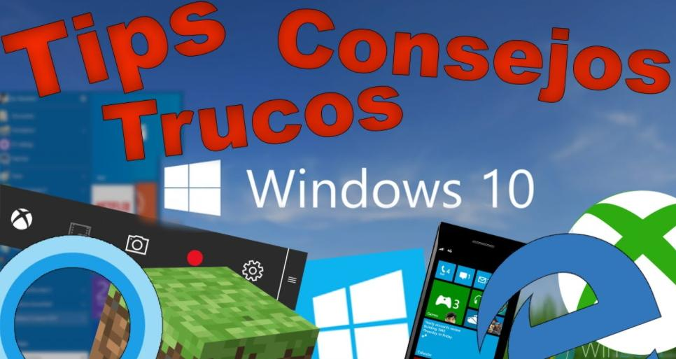 tips trucos windows10