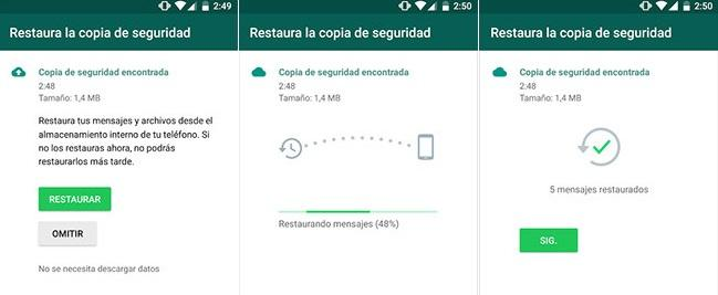 copia whatsapp drive