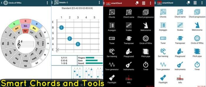 Smart Chords and Tools app