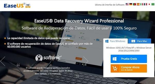 data recovery producto