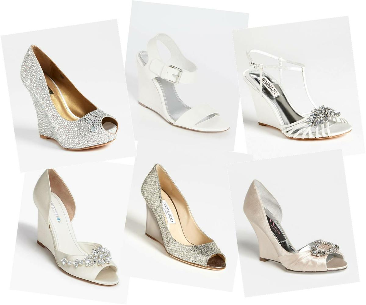 Resultado de imagen para wedges wedding shoes