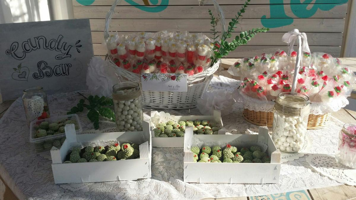 boda DIY - Candy bar de LRDecoracion