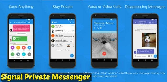 Signal Private app Messenger