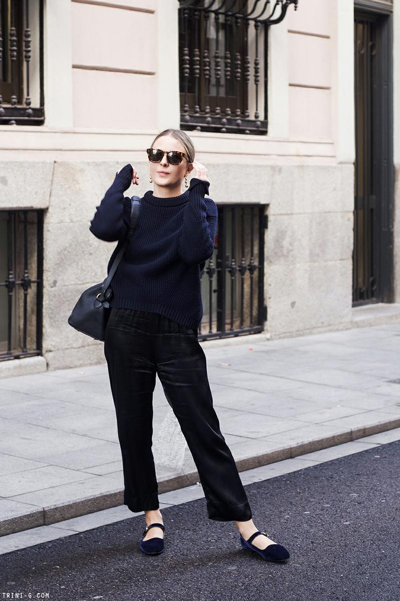 Trini | 3.1 Phillip Lim sweater Reformation pants