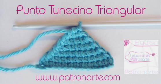 Punto Tunecino Triangular